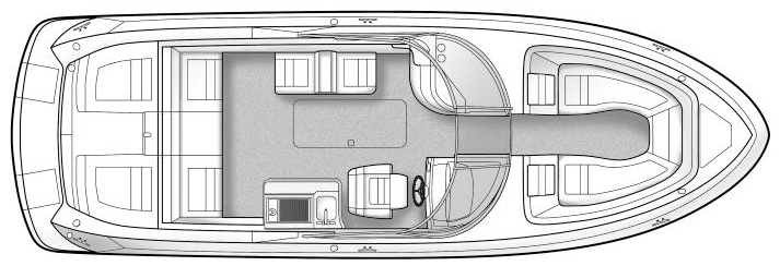 300 SLX Floor Plan 2