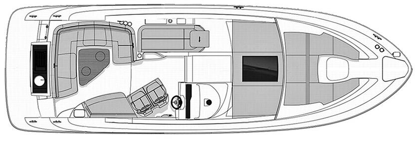 350 Sundancer Coupe Floor Plan 2