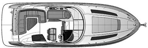 350 Sundancer Floor Plan 2