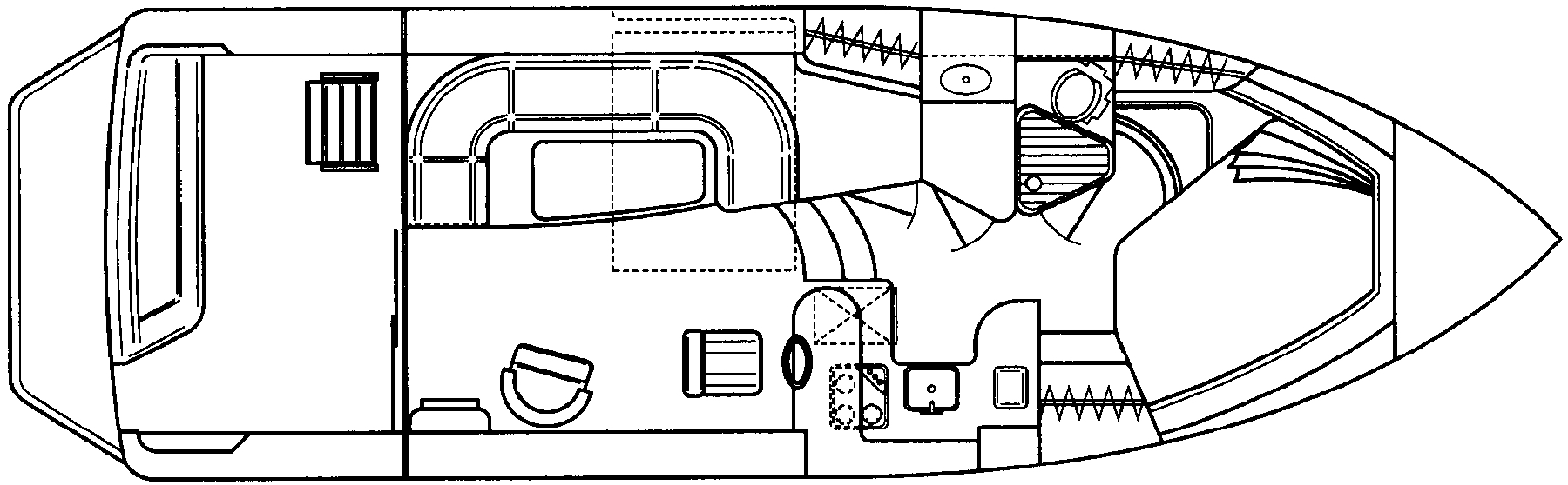 370 Sedan Bridge Floor Plan 1