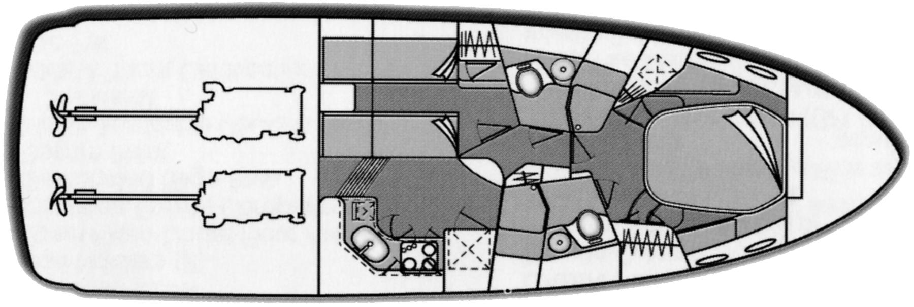 400 Sedan Bridge Floor Plan 2