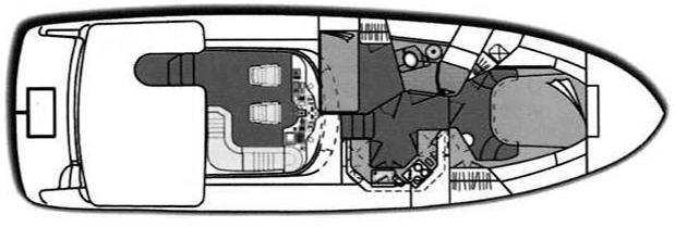 420 Aft Cabin Floor Plan 2