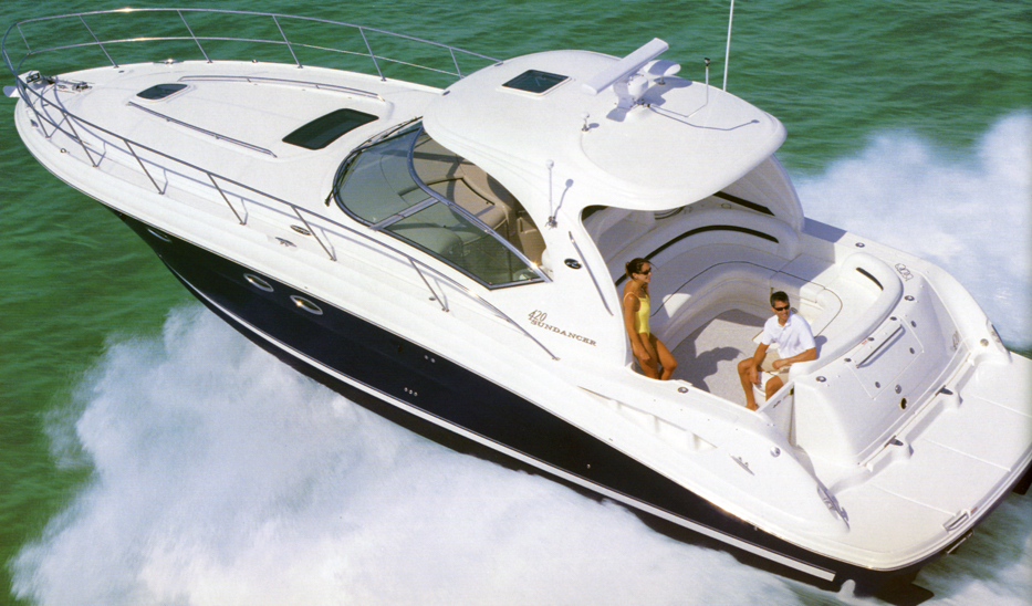 Sea Ray 420 Sundancer; 44 Sundancer