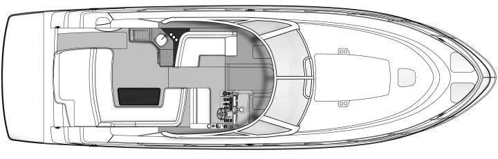 43 Sundancer; 470 Sundancer Floor Plan 2