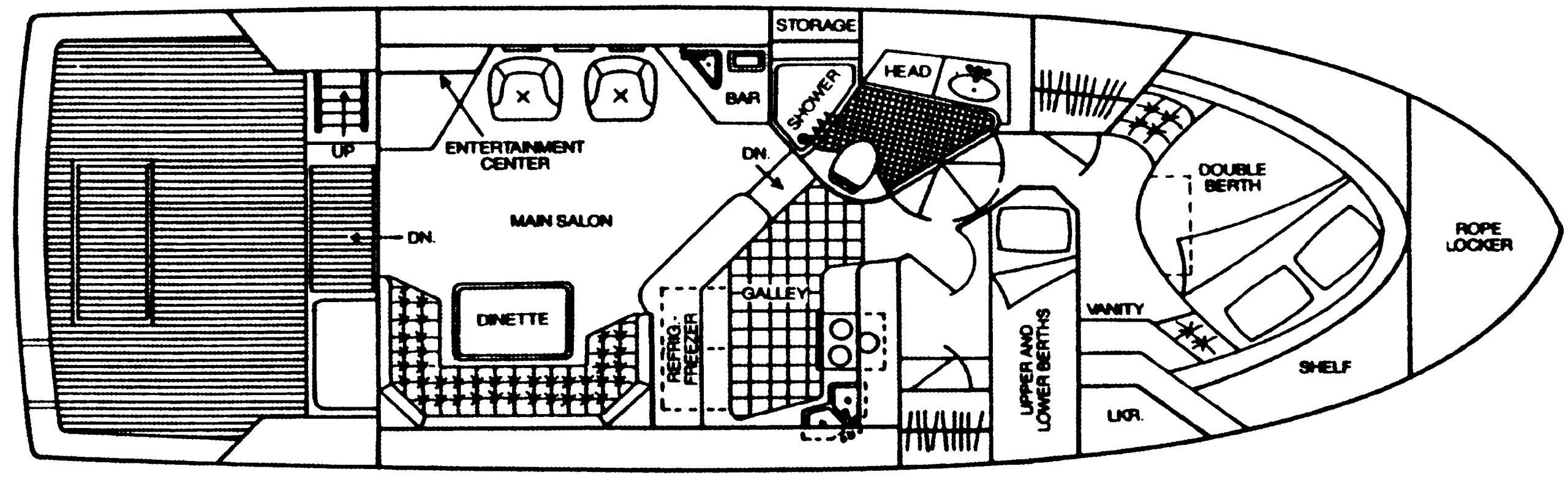 430-440 Convertible Floor Plan 1