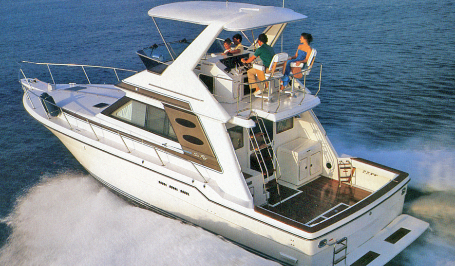 Sea Ray 430-440 Convertible
