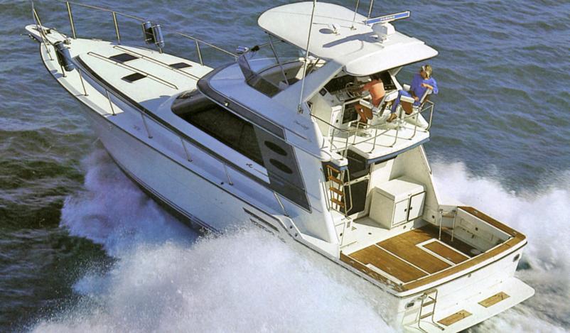 Sea Ray 460 Sport Fisherman
