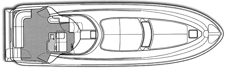 480 Motor Yacht Floor Plan 2
