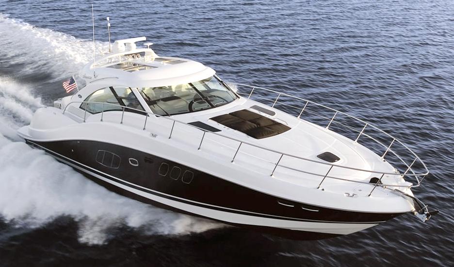 Sea Ray 55 Sundancer; 580 Sundancer