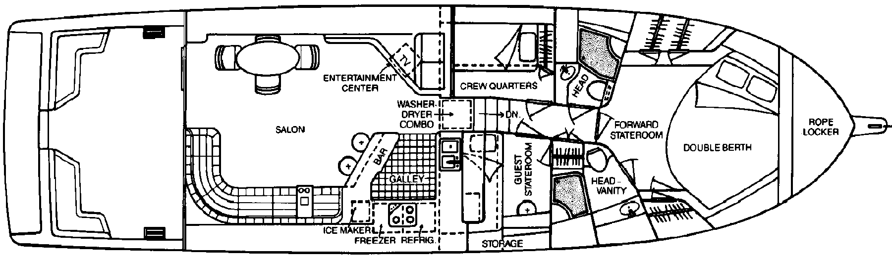 550 Sedan Bridge Floor Plan 2