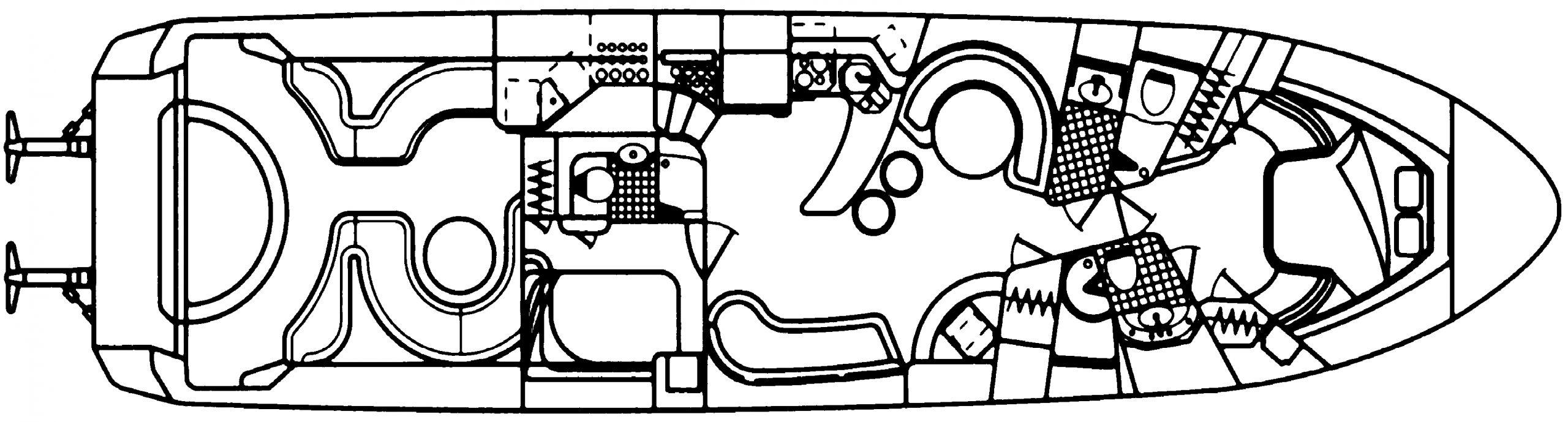 630 Sundancer Floor Plan 1