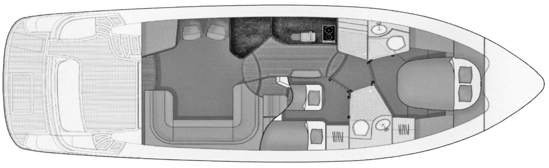 F42-5 Flybridge Floor Plan 2