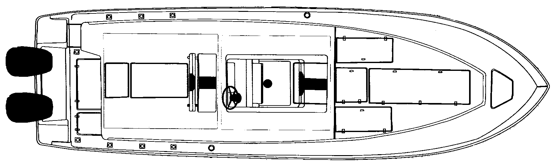 340 Open Floor Plan 1