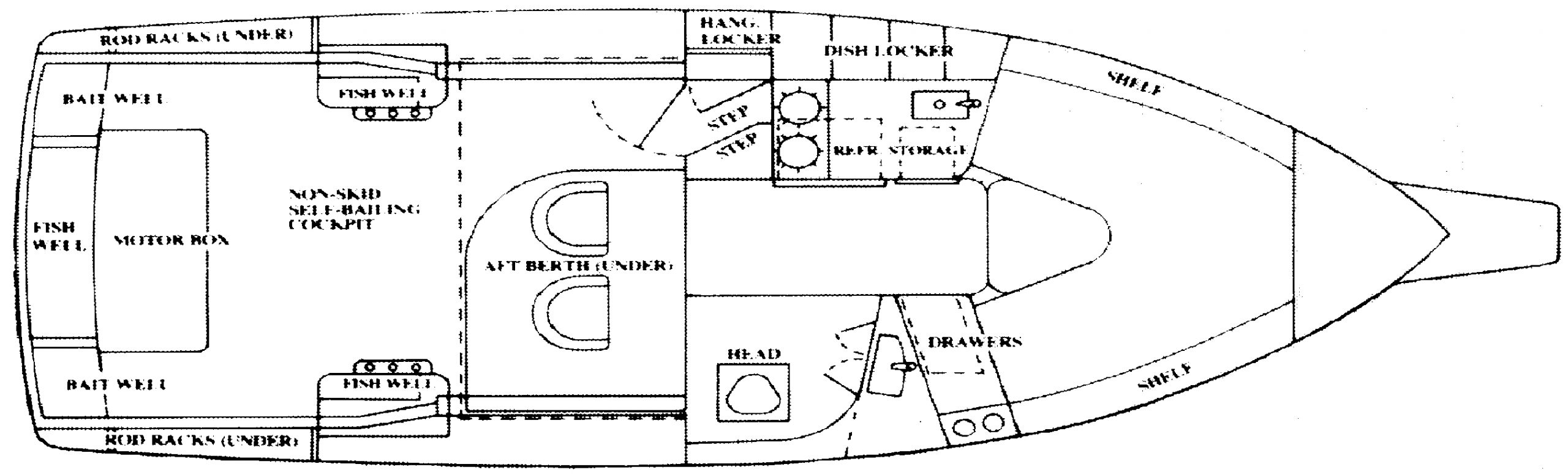 288 Liberty; 288 Family Fisherman Floor Plan 1