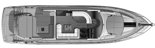 68 Sport Yacht Floor Plan 2
