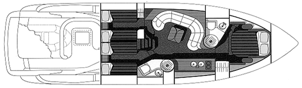Camargue 51 Floor Plan 2