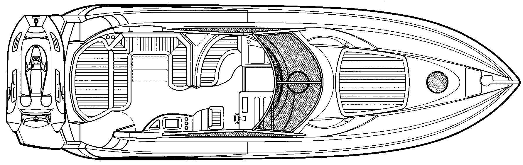 Portofino 46 Floor Plan 2