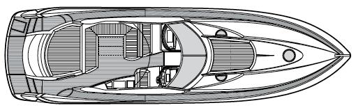 Portofino 53 Floor Plan 2