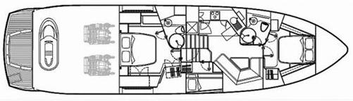Predator 62 Floor Plan 2