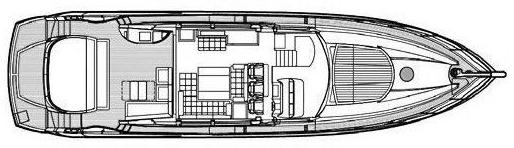 Predator 74 Floor Plan 2