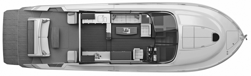 50-53 Coupe Floor Plan 2