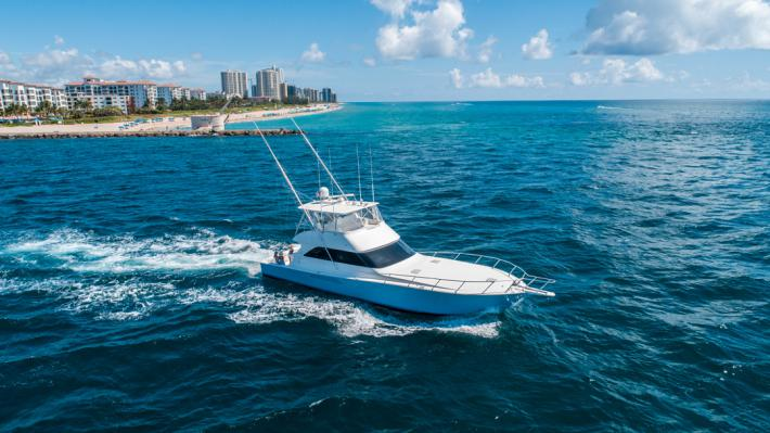As Featured on Palm Beach Lately- 2005 Viking Yachts 61' Convertible