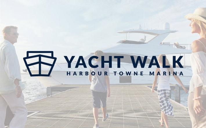 Yacht Walk At Harbour Towne Marina