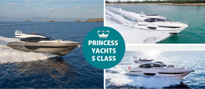The Princess S Class Series: A New Generation of Yachting Excellence