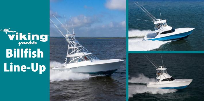 Viking Expands the Popular Billfish Series With Three New Models
