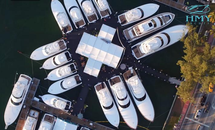 Miami Yacht Show 2020.2020 Miami Yacht Show Hmy Yachts