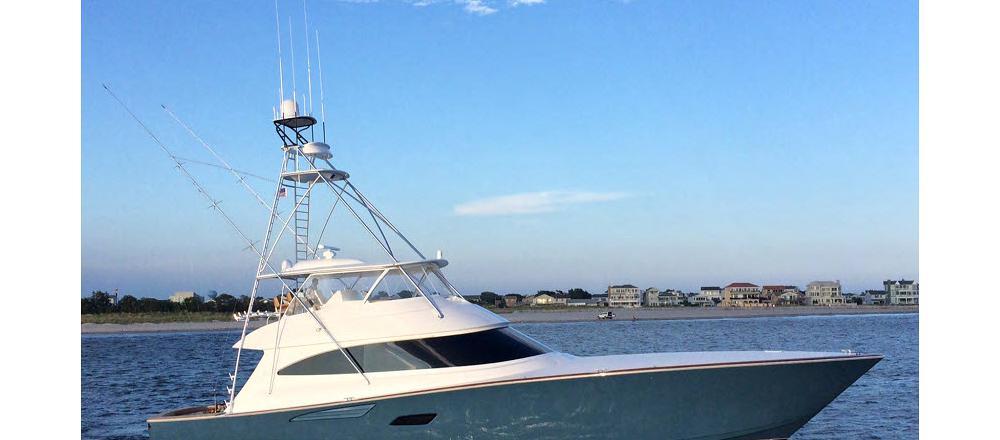 Viking Yachts Open Bridge Convertible 80C