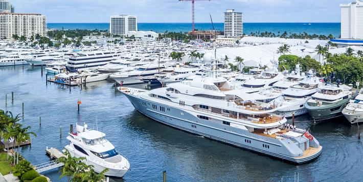 HMY Displays 3 Breathtaking Luxury Yachts at the Ft. Lauderdale Boat Show