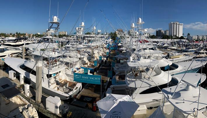 HMY Steals the Spotlight with 3 Must-See Viking Sportfish Yachts at the Ft. Lauderdale Boat Show