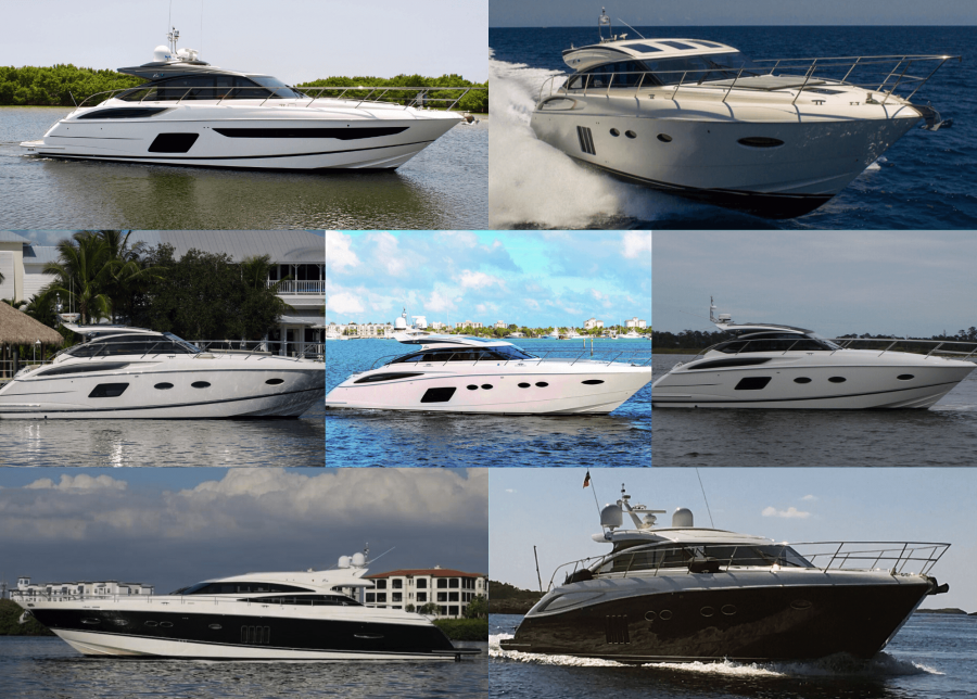 HMY Lists 7 Pre-Owned Princess Sport Cruisers Priced to Sell