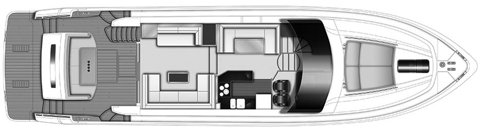 Princess 64 Floorplan 1