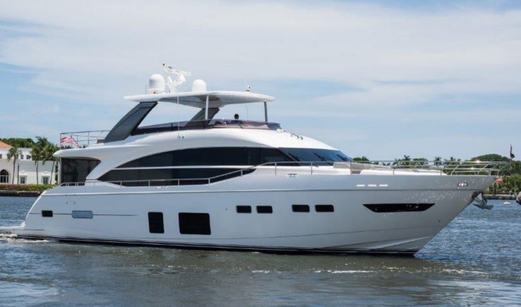 "Princess 75 ""Perfect"" Exterior"