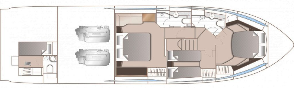 Princess S60 Floorplan 2