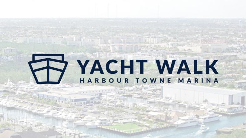 Yacht Walk At Harbour Towne Marina