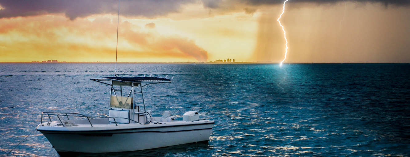 Lightning Safety on the Water by HMY.com