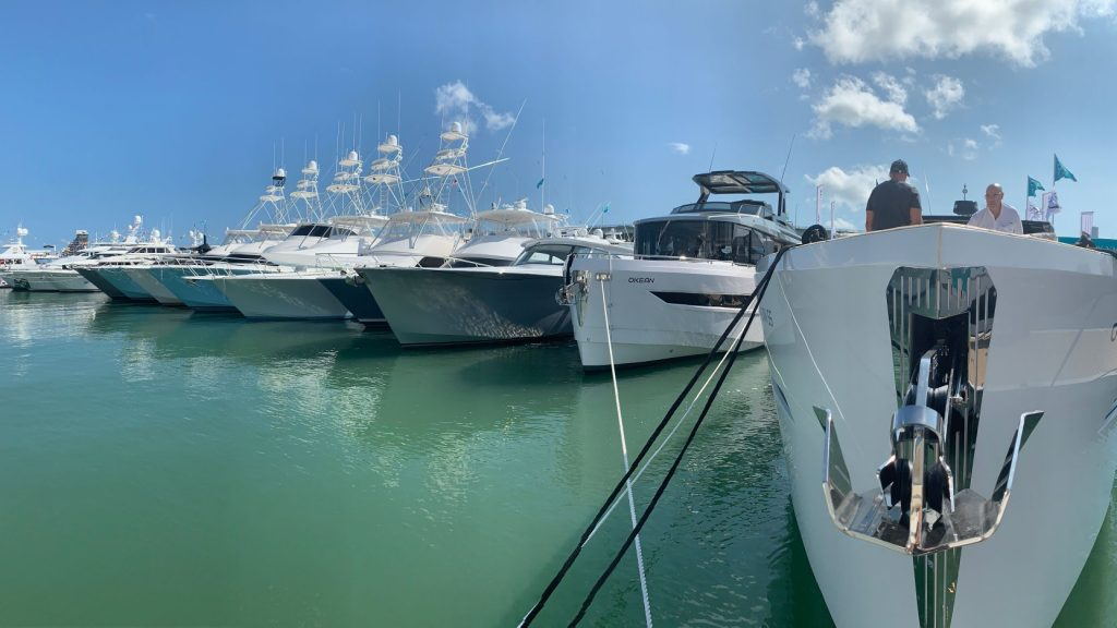 HMY at the Miami Yacht Show