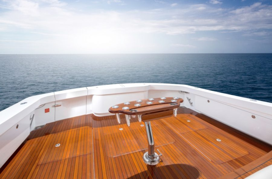 How to Properly Maintain Your Sportfishing and Motor Yacht Teak Deck for Looks and Longevity