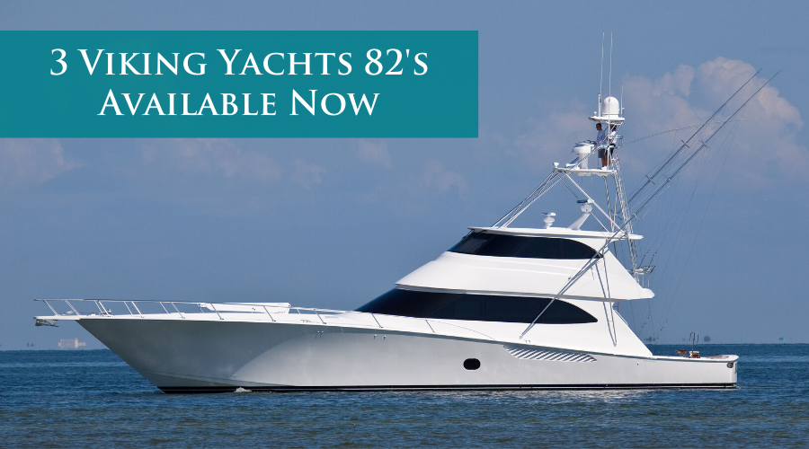 Three Viking Yachts 82s Available For Sale