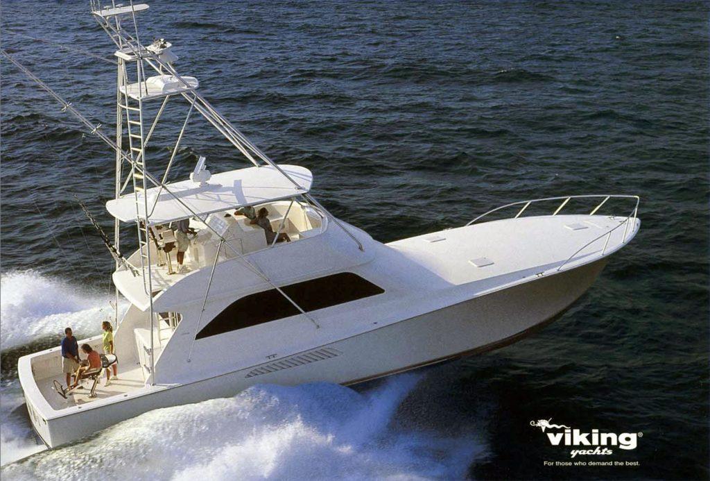 Viking Yachts 61