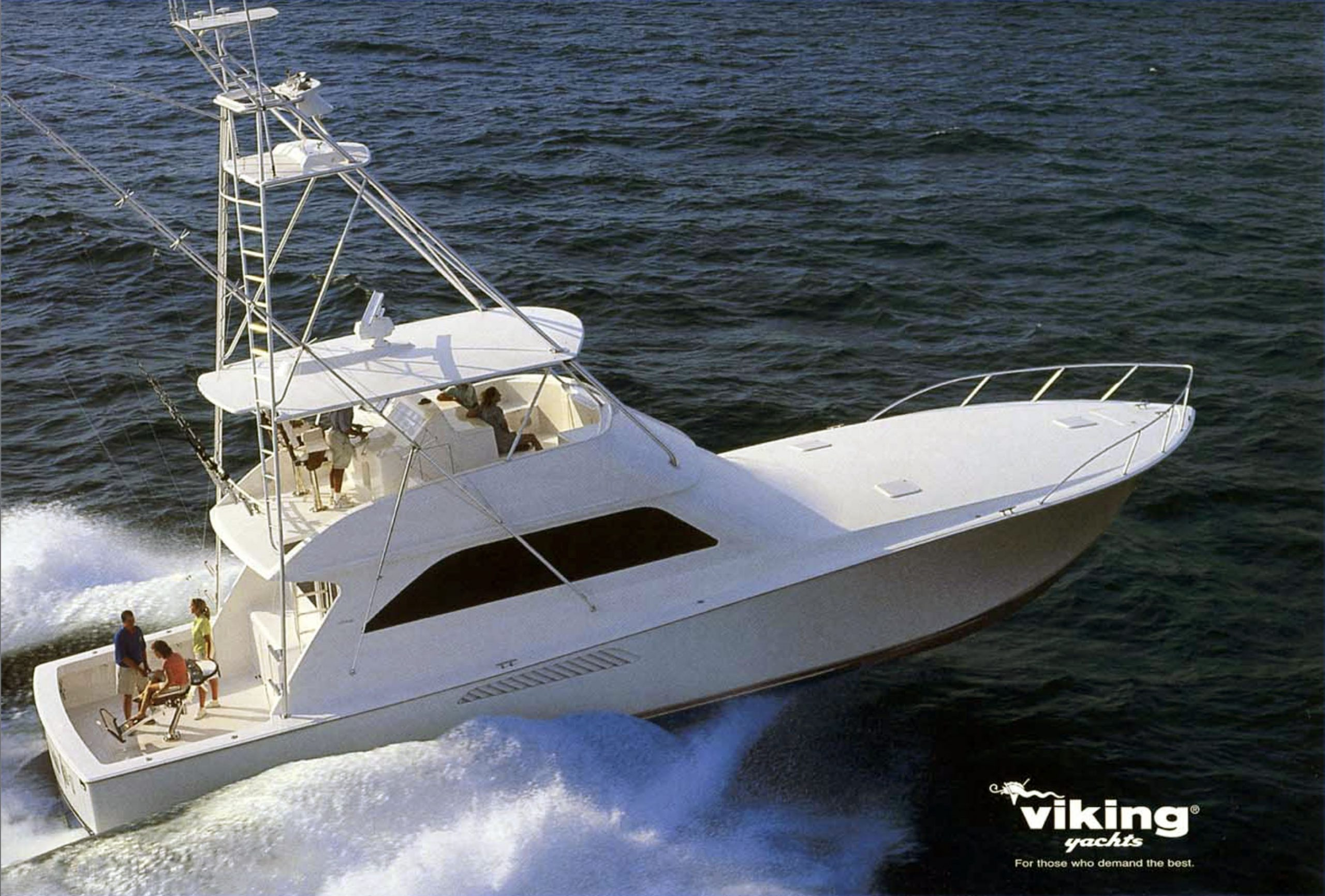 The Viking 61 is the most sought-after big convertible on the brokerage market. HMY has 8 available now.