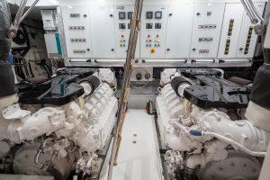 OKEAN 80 Engine Room