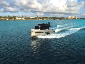 OKEAN 50X running Shot Port Balconies Closed