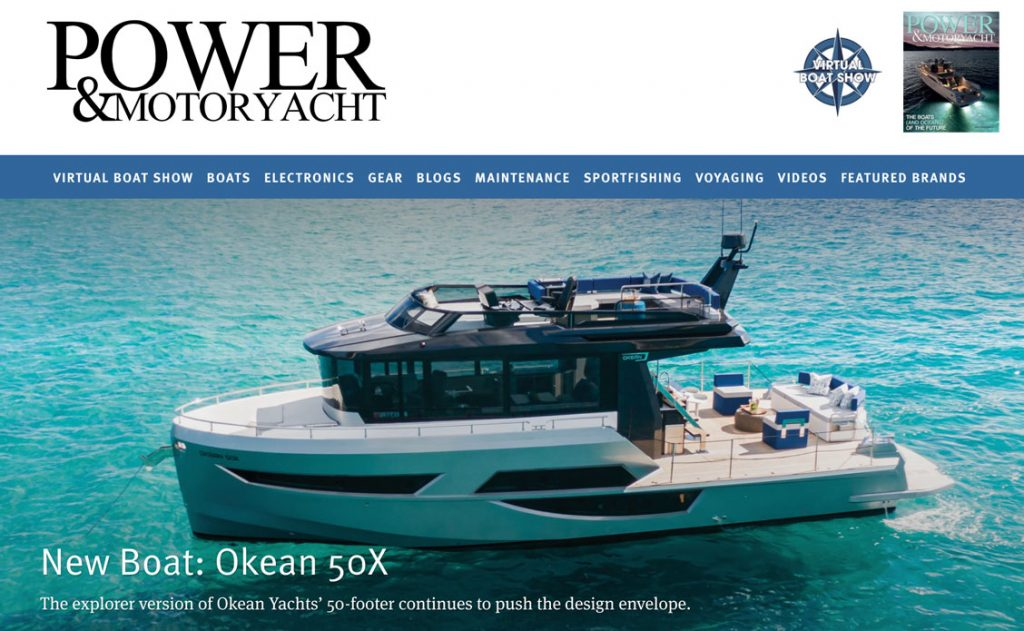 Okean 50 X - As Seen in Power & Motoryacht – April 2020