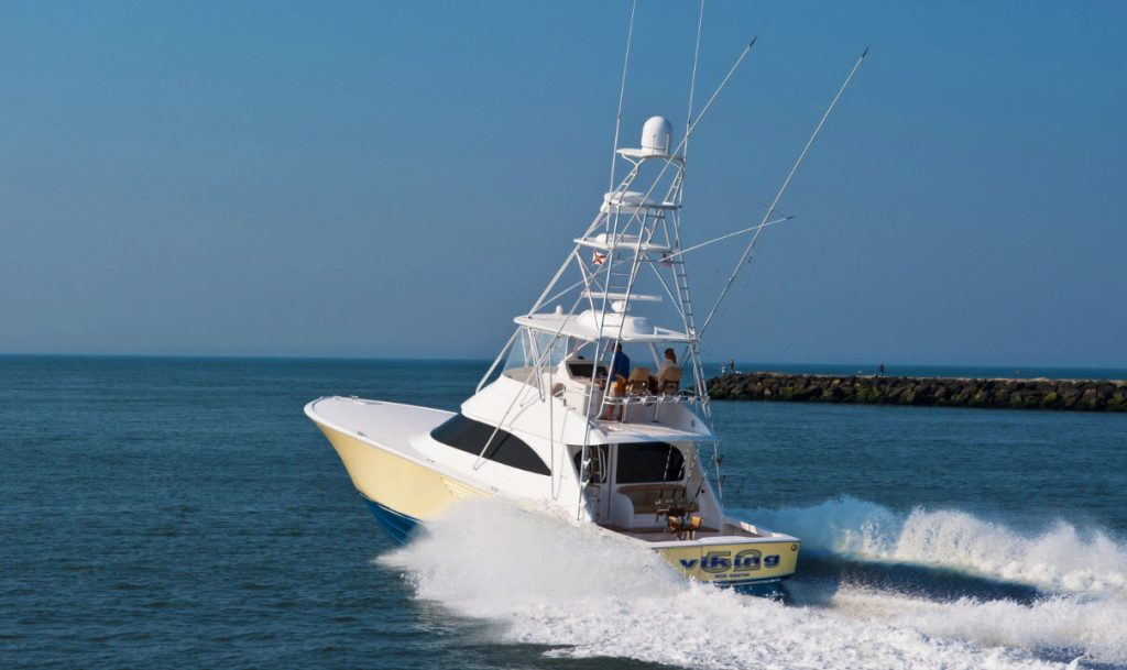 Viking 52 Convertible Running
