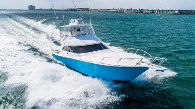 "2014 Viking 55 Convertible ""Harbor Time"" — Sold by HMY Yacht Sales"