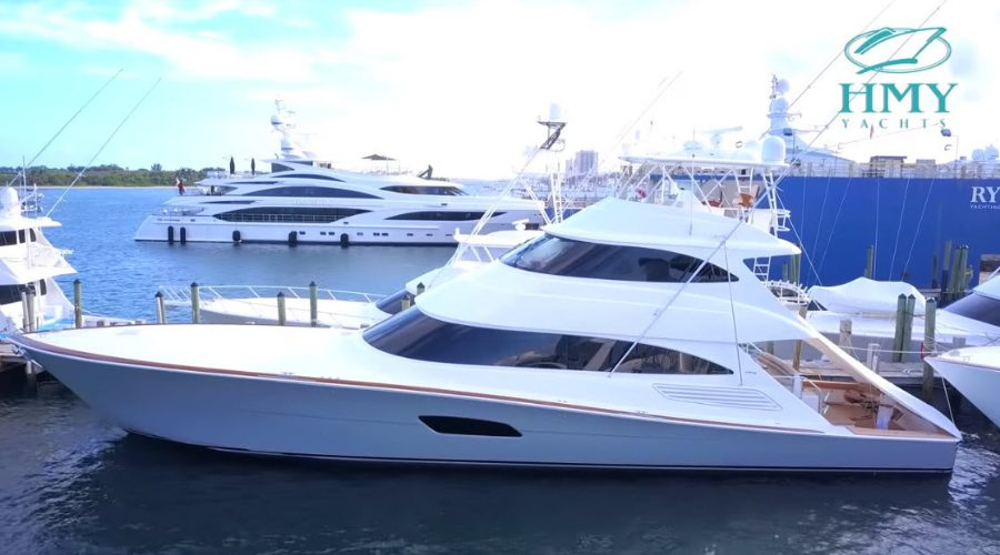 Viking Yachts 92 Skybridge Video